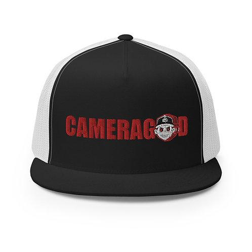 Camera God MascotTrucker Cap