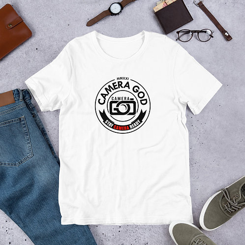 Camera Ready BLK Short-Sleeve Unisex T-Shirt