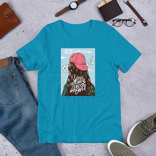 Y.O.L.O. Short-Sleeve Unisex T-Shirt