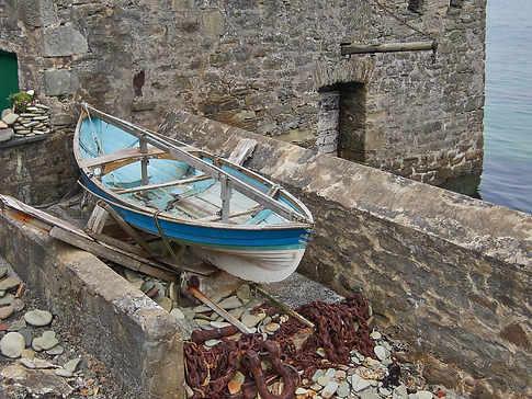 Blue Boat, Lerwick, Shetland