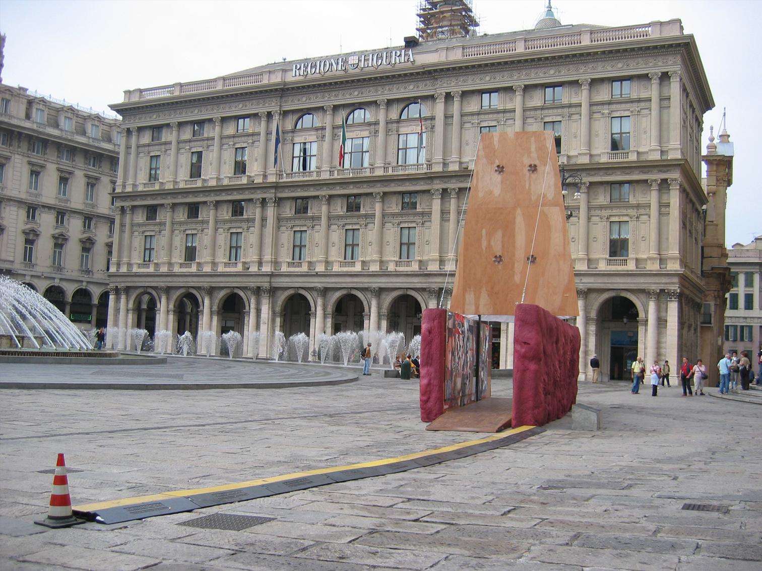 Chiosco per Genova