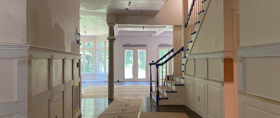 Hallway to Family Room