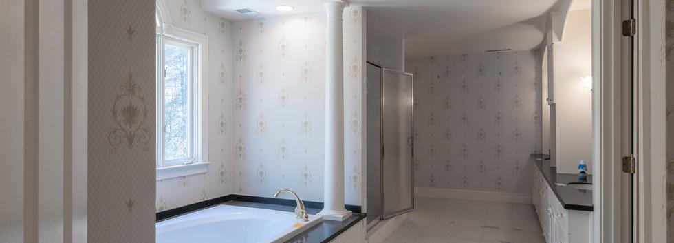 Master Bath Tub & Shower - Before
