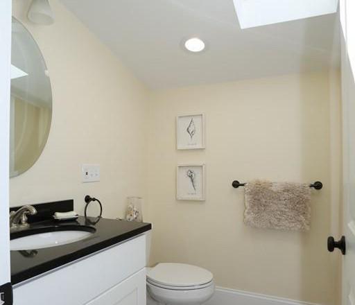 Sunfilled Bathroom