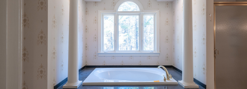 Master Bath Tub - Before
