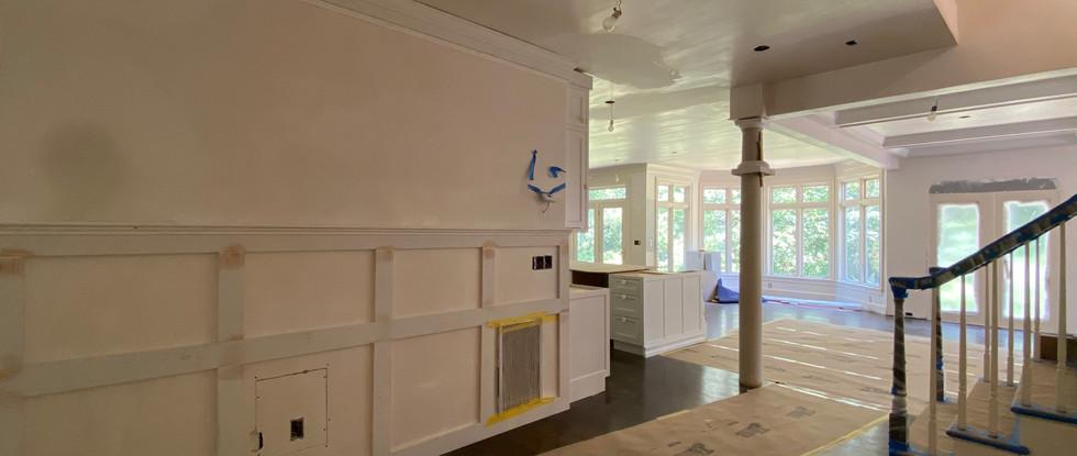 Hallway looking toward Kitchen & Breakfast Nook