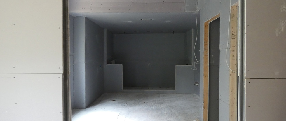 View to Master Bath Wetroom on far wall.