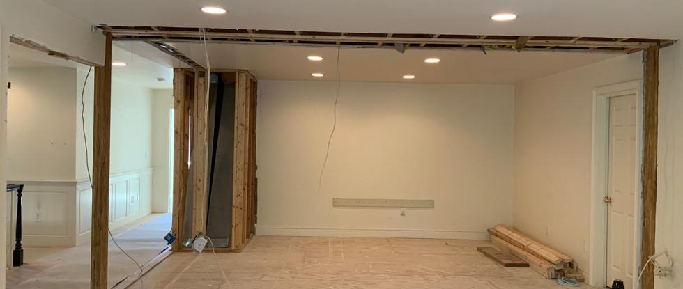 New Master Suite framework is underway.