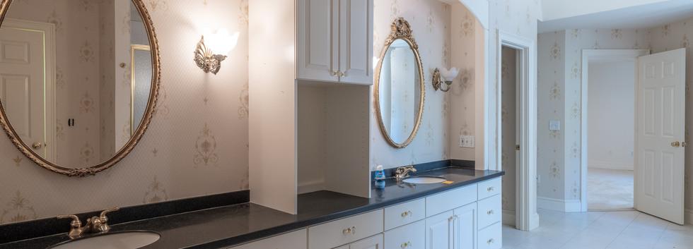 Master Bath Vanities - Before