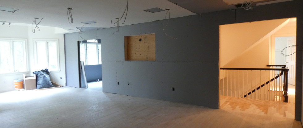 Entry from Upper Hall into Master Suite.