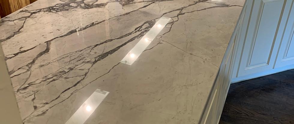 Close up of granite