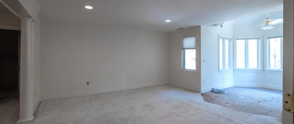 Master Suite view from doorway - Before