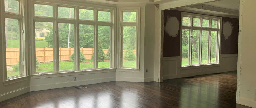 Music Room to Dining Room