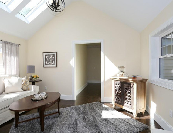 Mothers Sitting Room   Mom Cave with Skylights