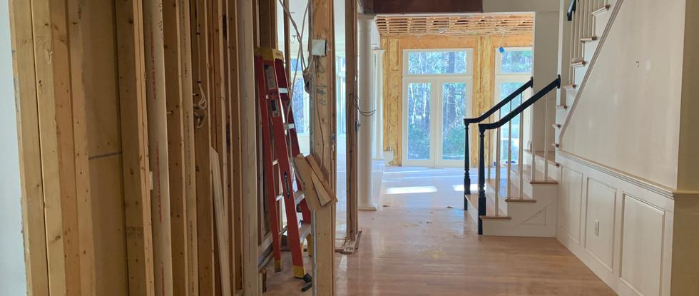New Hallway view