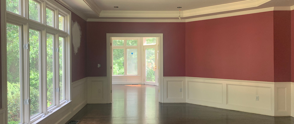 Dining Room to Sunroom