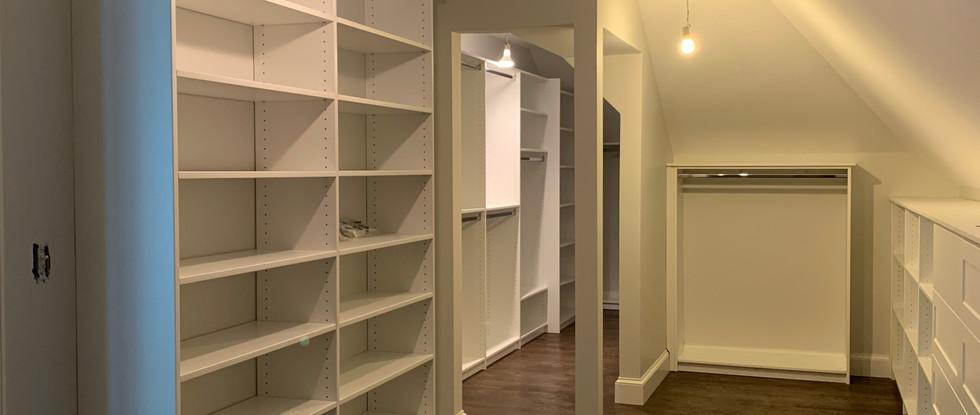 Master Suite Closet installed