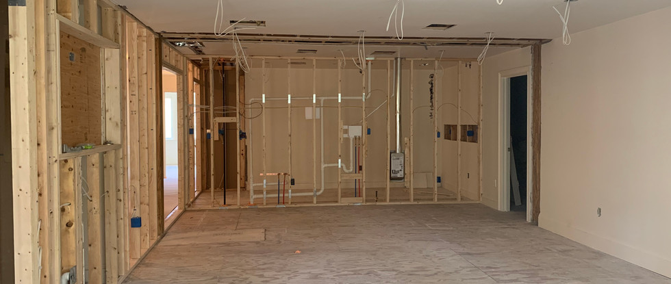 Interior view from Sitting Area of Master Suite.