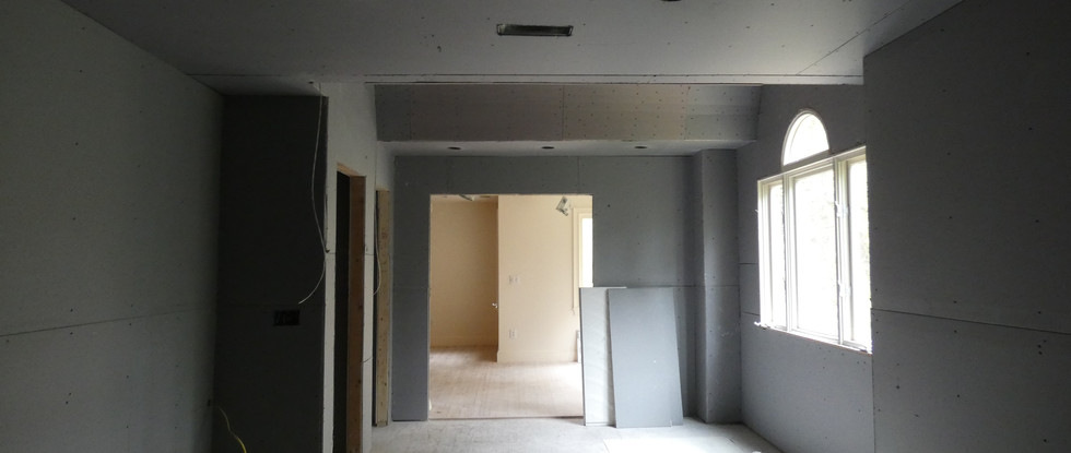 View from Wetroom into Master Bedroom.
