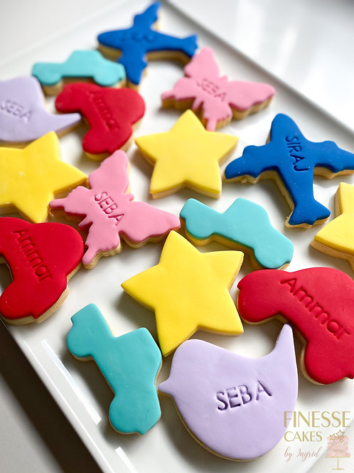 12 Custom Celebration Cookies