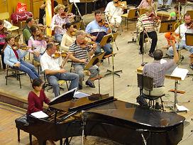 Vivian and orchestra.JPG