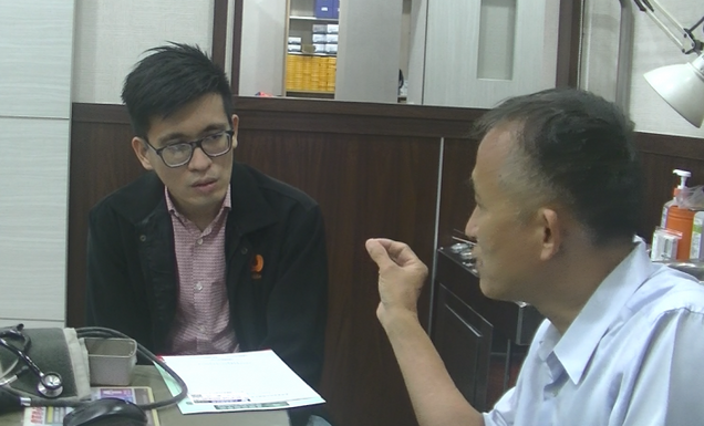 預防醫學無國界,來自馬來西亞的賴先生