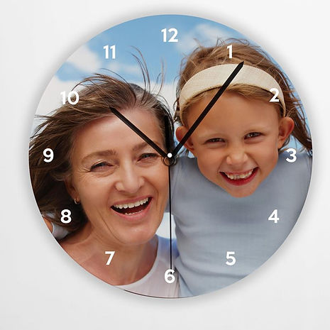 horloge photo a palavas, idee cadeau photo carnon