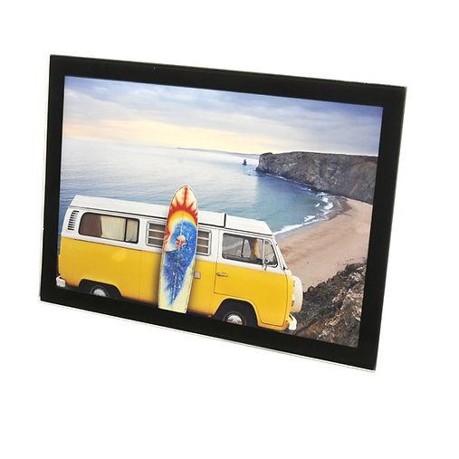 cadre en verre palavas, cadre photo palavas, cadre en verre bordure noire