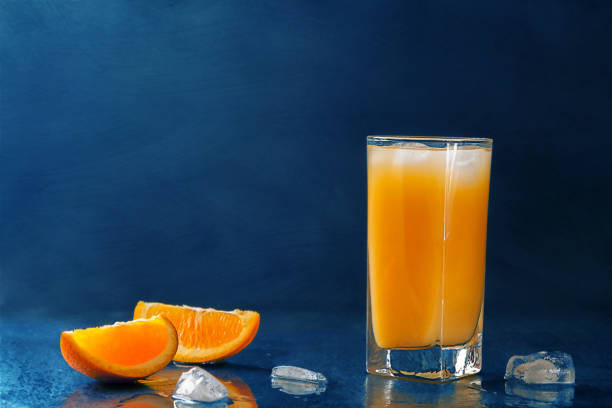 Screwdriver made with fresh orange juice has a bright acidity & sweetness.