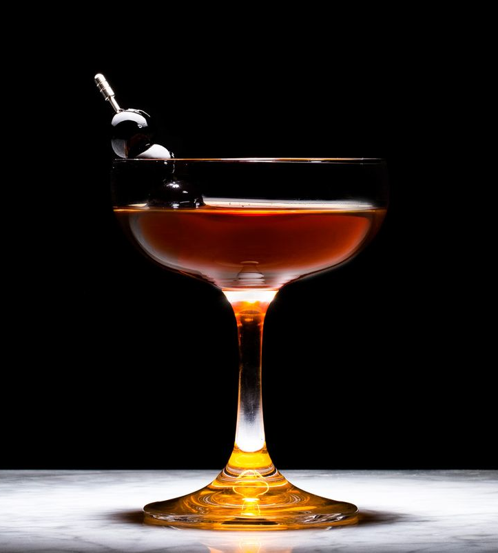 The Manhattan is very much about mouthfeel & layer of flavours.
