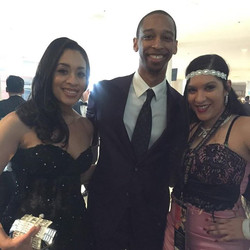 With Grammy nominee Armand and his wife  _ the 58th Grammys Awards #grammyawards2016
