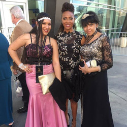 With Rapper MC Lyte the 58th Grammys Awards #grammyawards2016