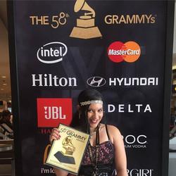 _ the 58th Grammys Awards #grammyawards2016