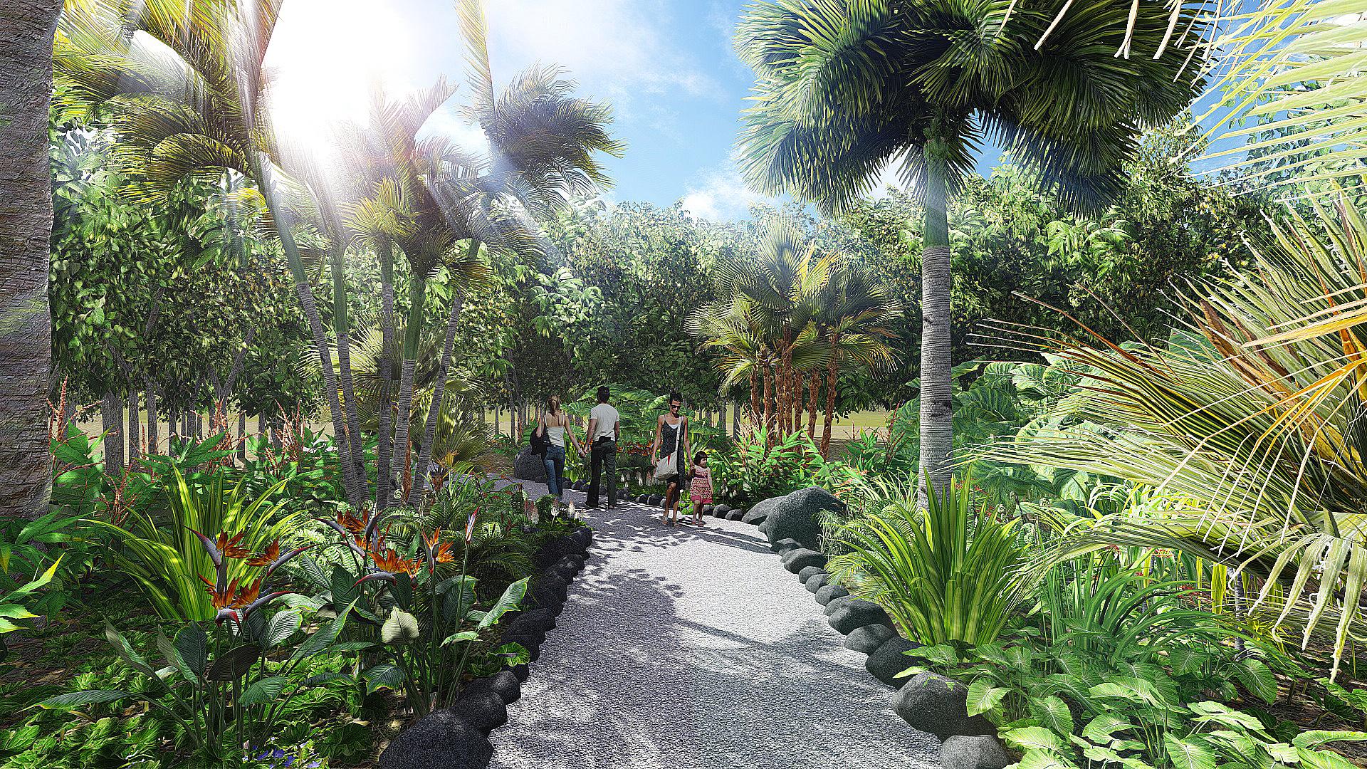 Jardin botanique Faaroa
