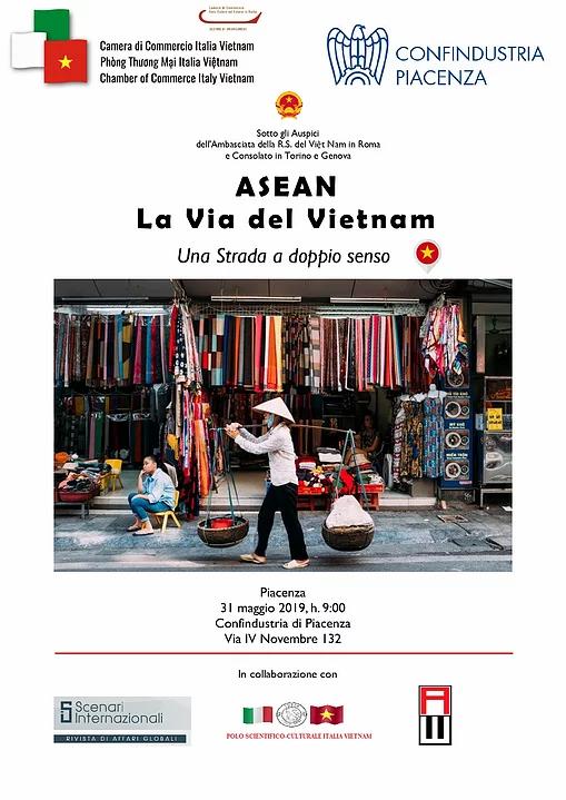 Locandina ASEAN la via del Vietnam