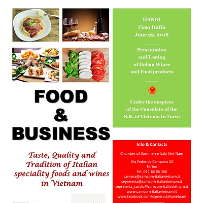 """""""Food & Business""""  - Event in Hanoi"""