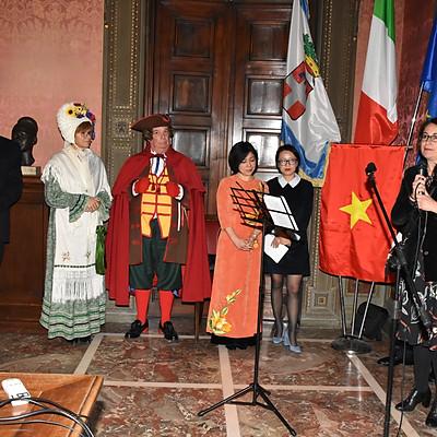 Tet Nguyen Dan-Lunar new year 2019 Palace Cisterna (Torino)