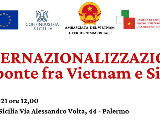 Hội thảo kinh tế Việt Nam - Sicily tại Palermo 14/7/2021
