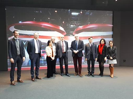 Visita Pininfarina con Ambasciatrice del Vietnam in Italia