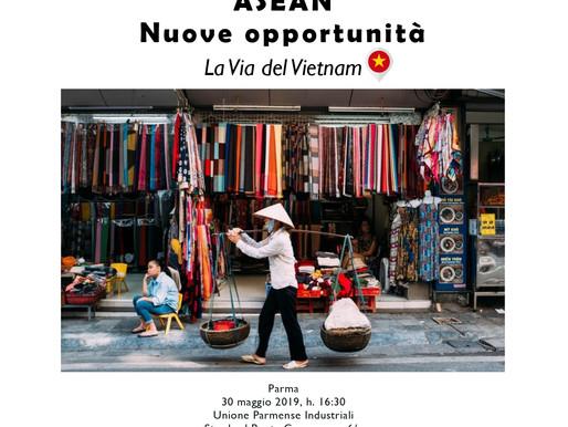 """""""ASEAN: Nuove Opportunità"""". Seminario a Parma."""