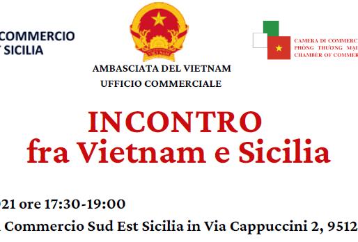 Incontro a Catania tra Vietnam e Sicilia