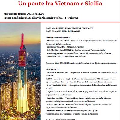 Internazionalizzazione - un ponte fra Vietnam e Sicilia