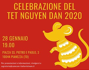 Celebrazione Tet Nguyen Dan 2020