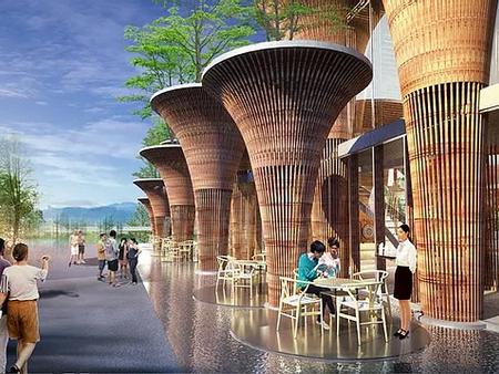 Il padiglione vietnamita ad Expo 2015
