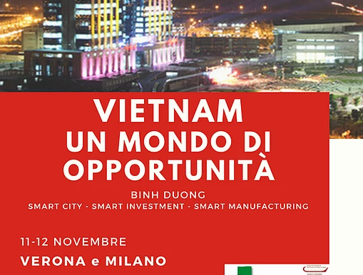 """""""Vietnam. Un mondo di opportunità"""" Seminari a Verona e Milano"""