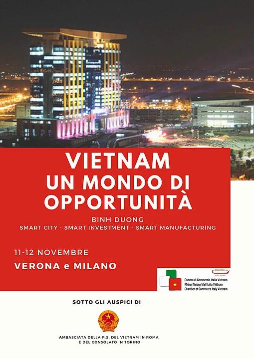 """""""Vietnam: un mondo di opportunità"""" seminari"""