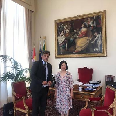 Visite istituzionali in Sicilia