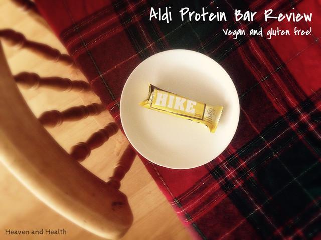Aldi 'Hike' Protein Bar Review: Banana