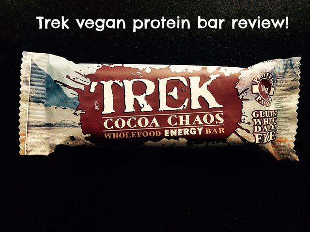 Trek Protein Bar Review: Cocoa Chaos