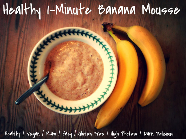 Protein Banana Mousse